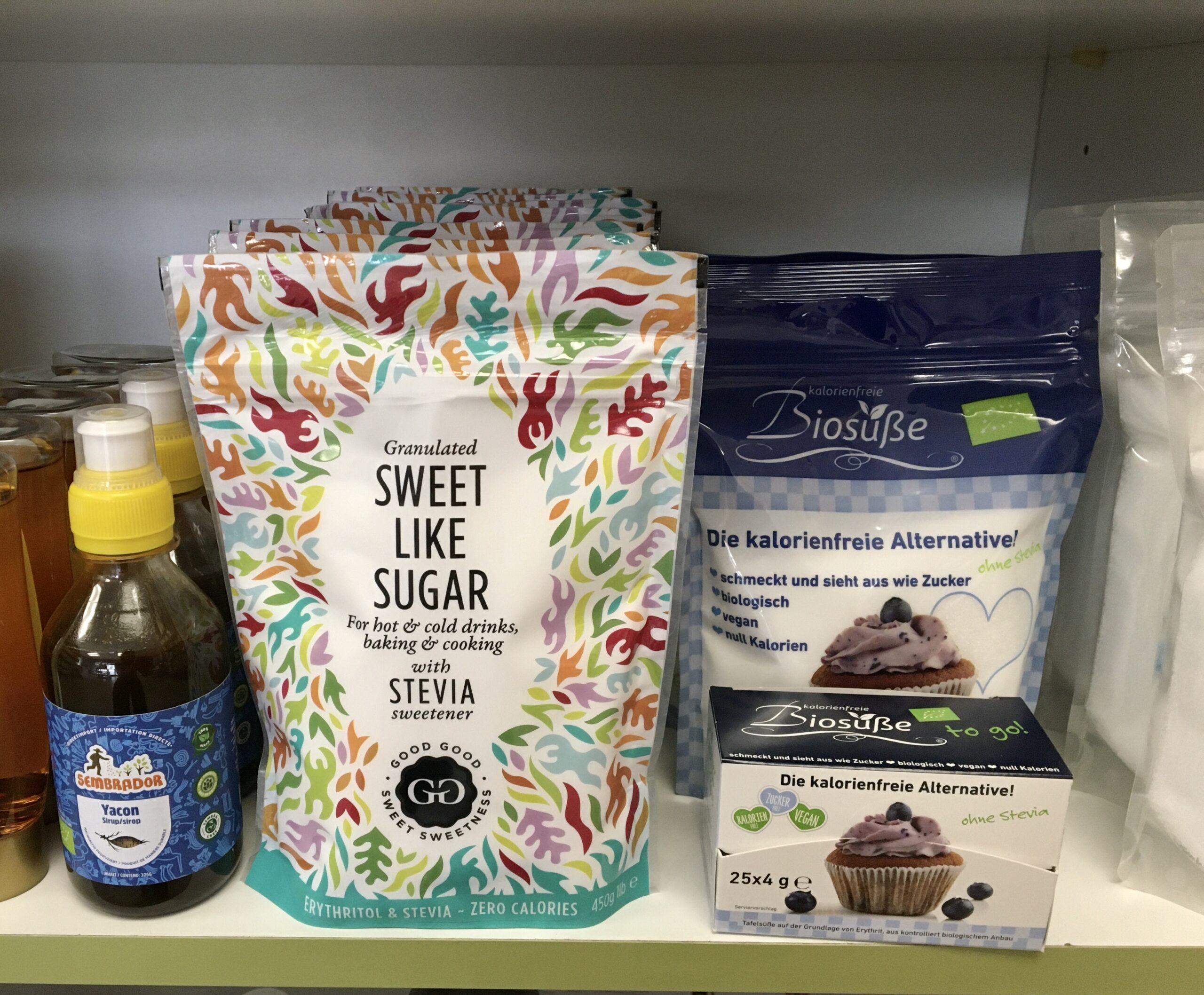 Dolcificanti alternativi allo zucchero