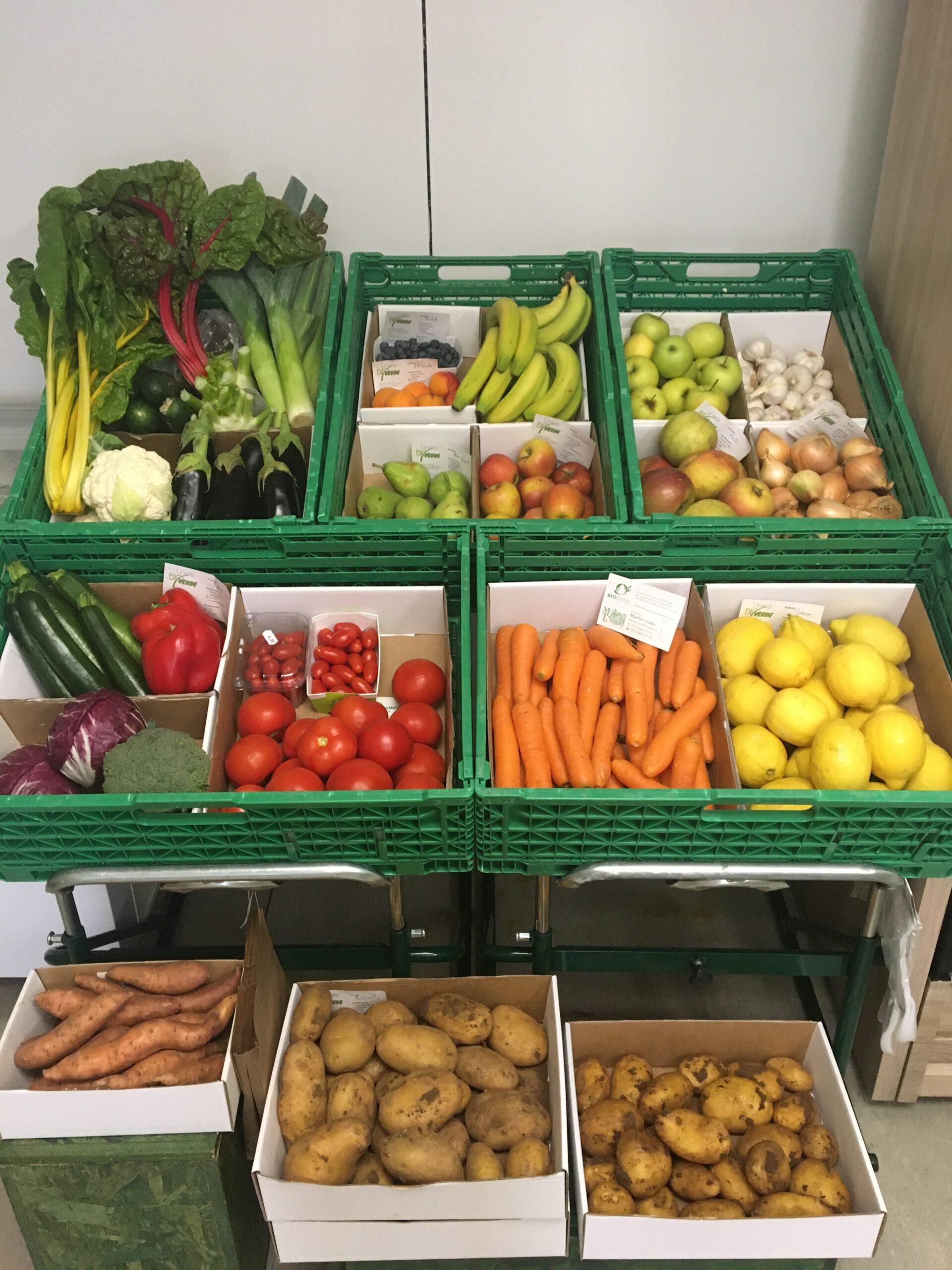 Verdura e frutta bio