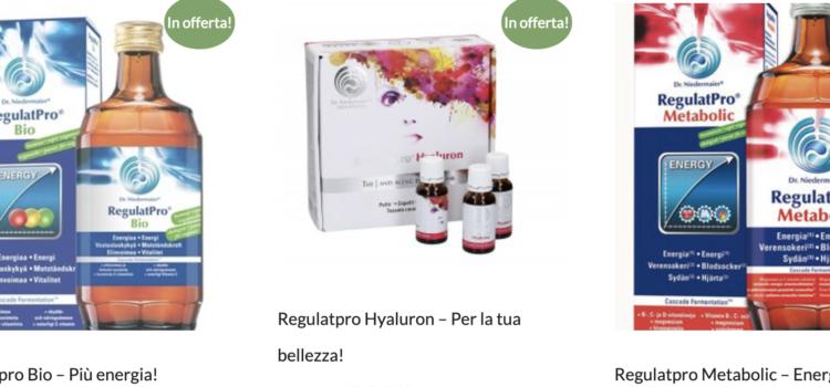 25 settembre – Promozione prodotti Regulatpro